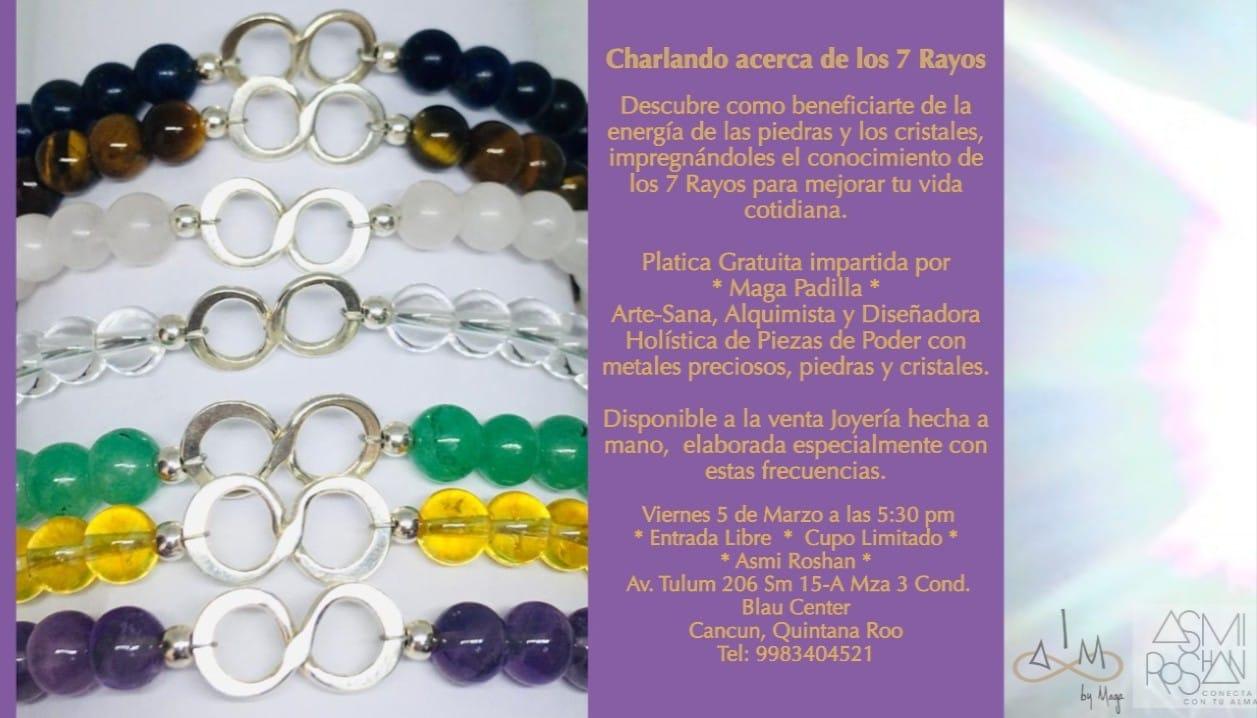 CHARLANDO ACERCA DE LOS 7 RAYOS