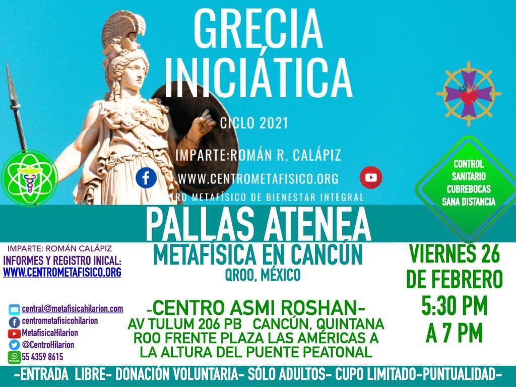 GRECIA INICIATICA- Metafísica en Cancún