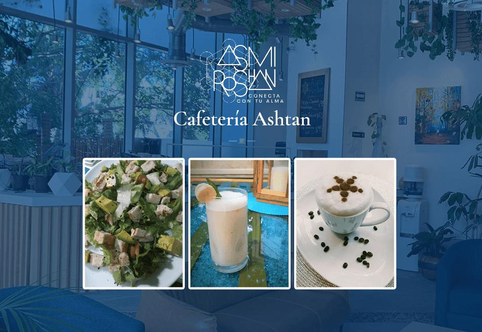 Menu Cafetería Asmi Roshan