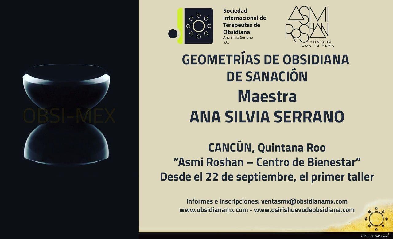 Geometrías de Obsidiana de Sanación